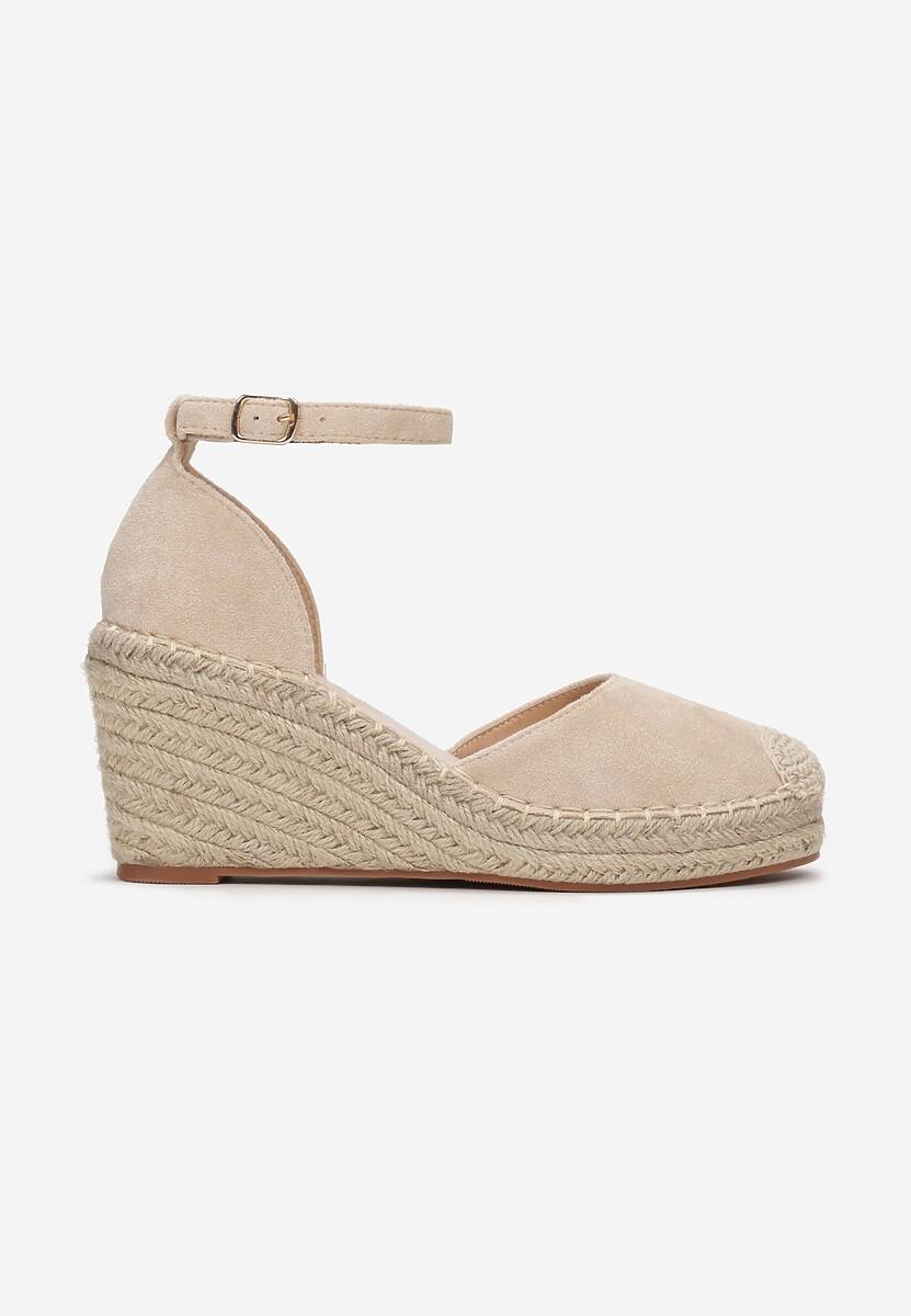 Beżowe Sandały Murigune