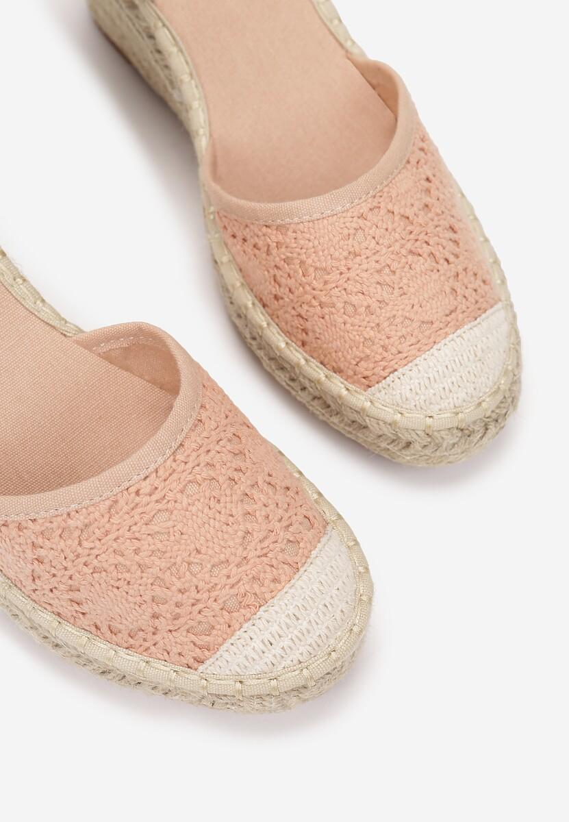 Różowe Sandały Synatai