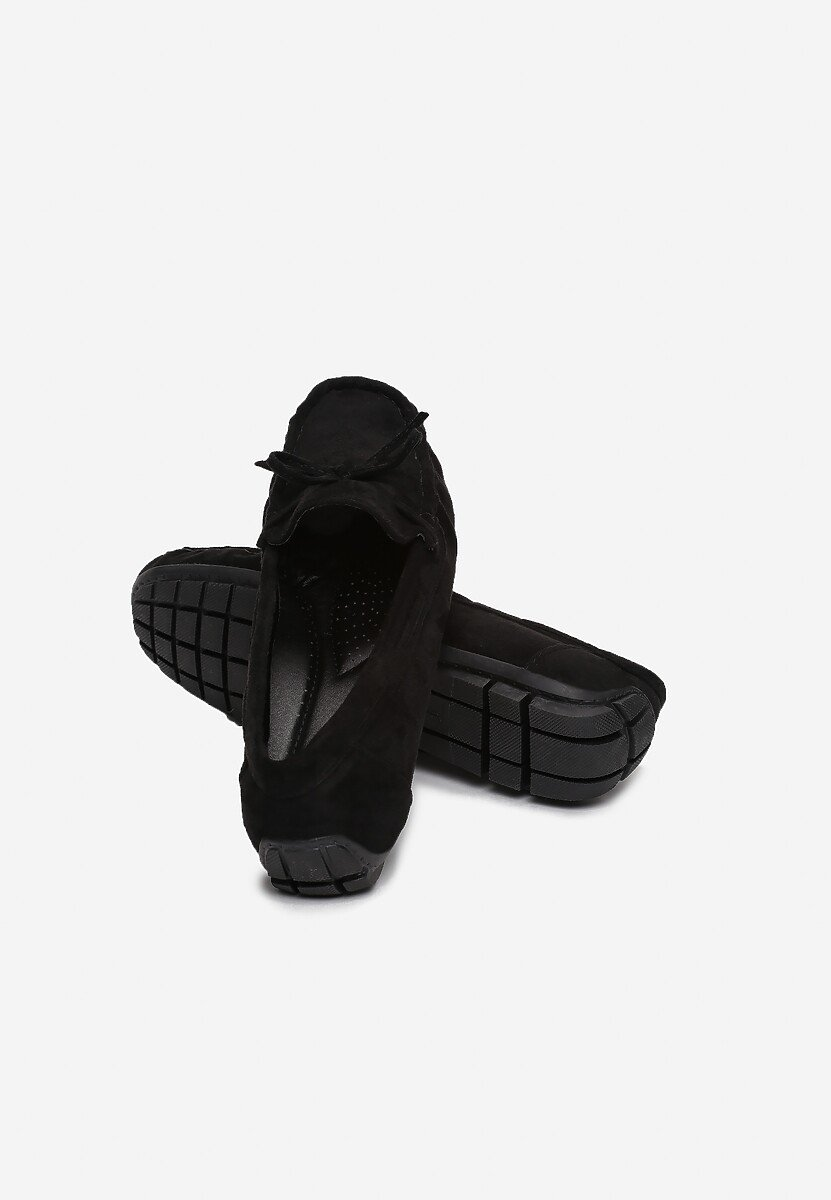 Czarne Mokasyny Armaan