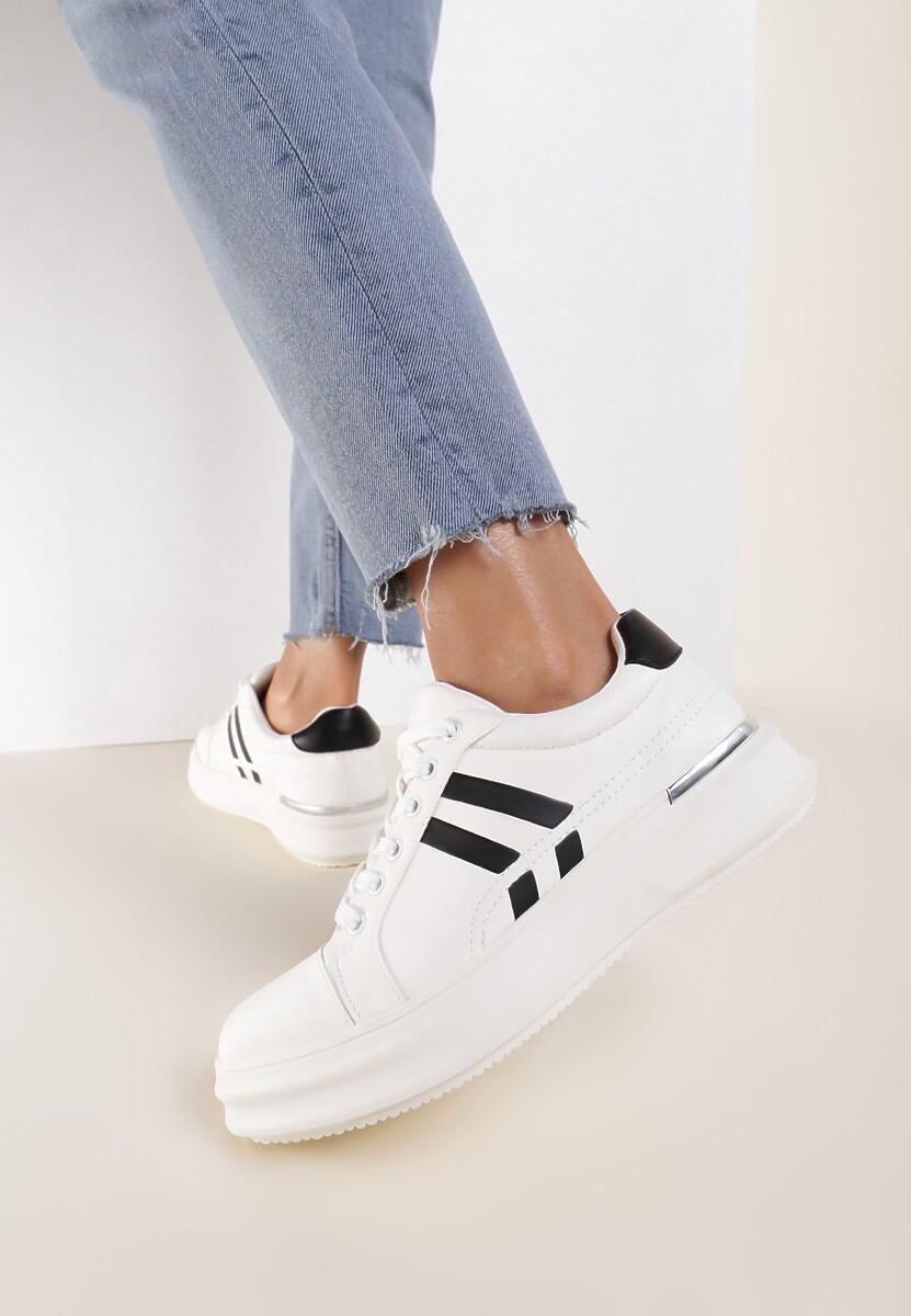 Białe Sneakersy Aqiatune