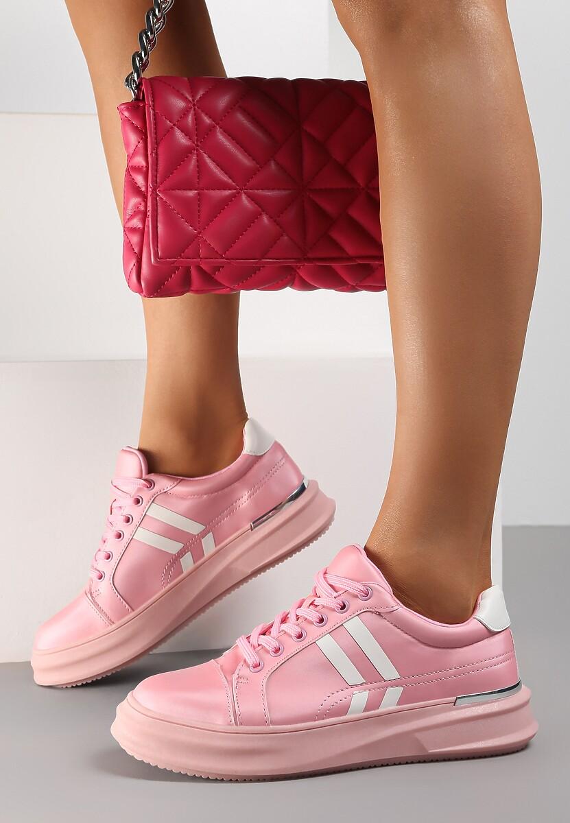 Różowe Sneakersy Aqiatune
