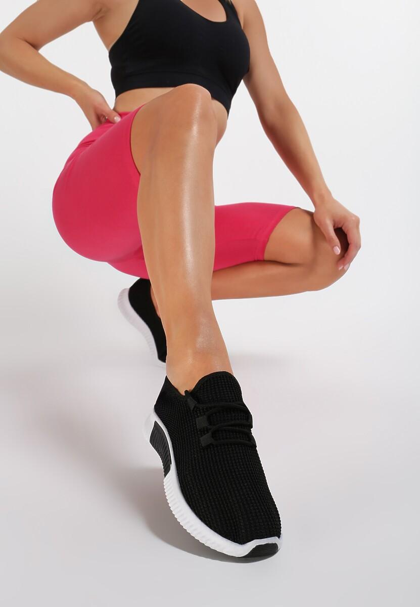 Czarne Buty Sportowe Carol