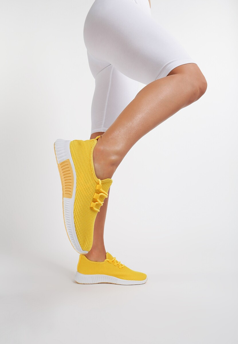 Żółte Buty Sportowe Carol