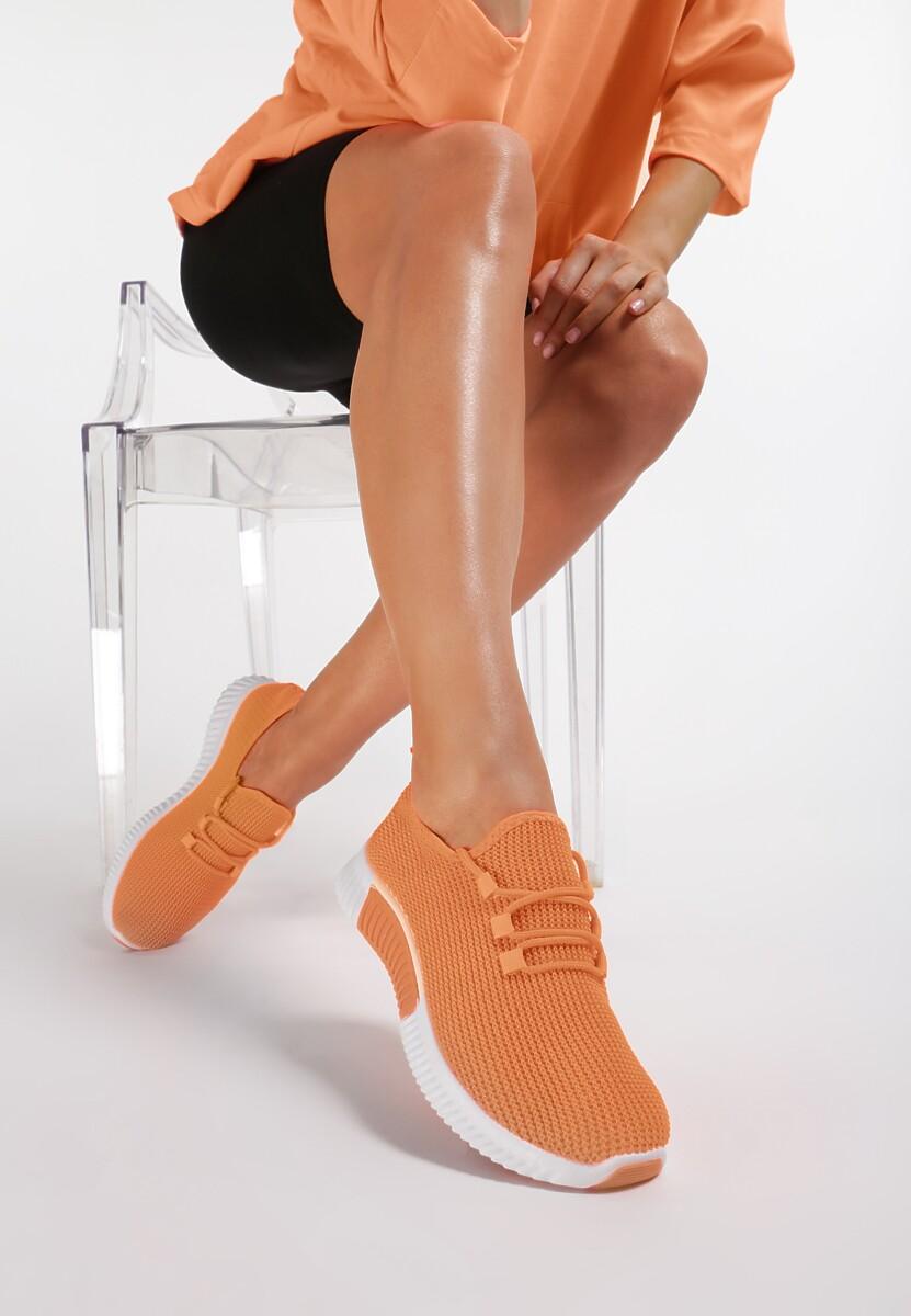 Pomarańczowe Buty Sportowe Carol