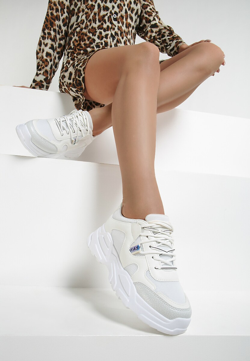 Białe Sneakersy Lucence