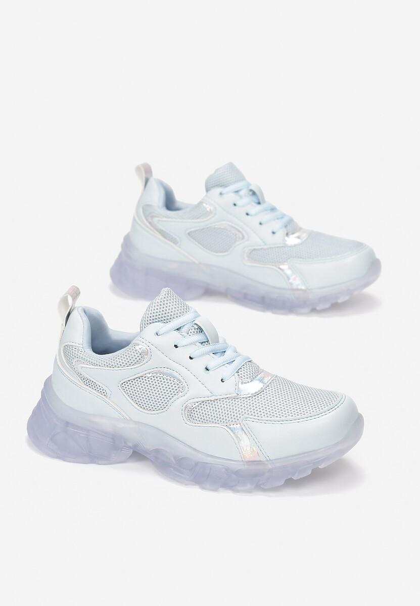 Niebieskie Sneakersy Brethyse