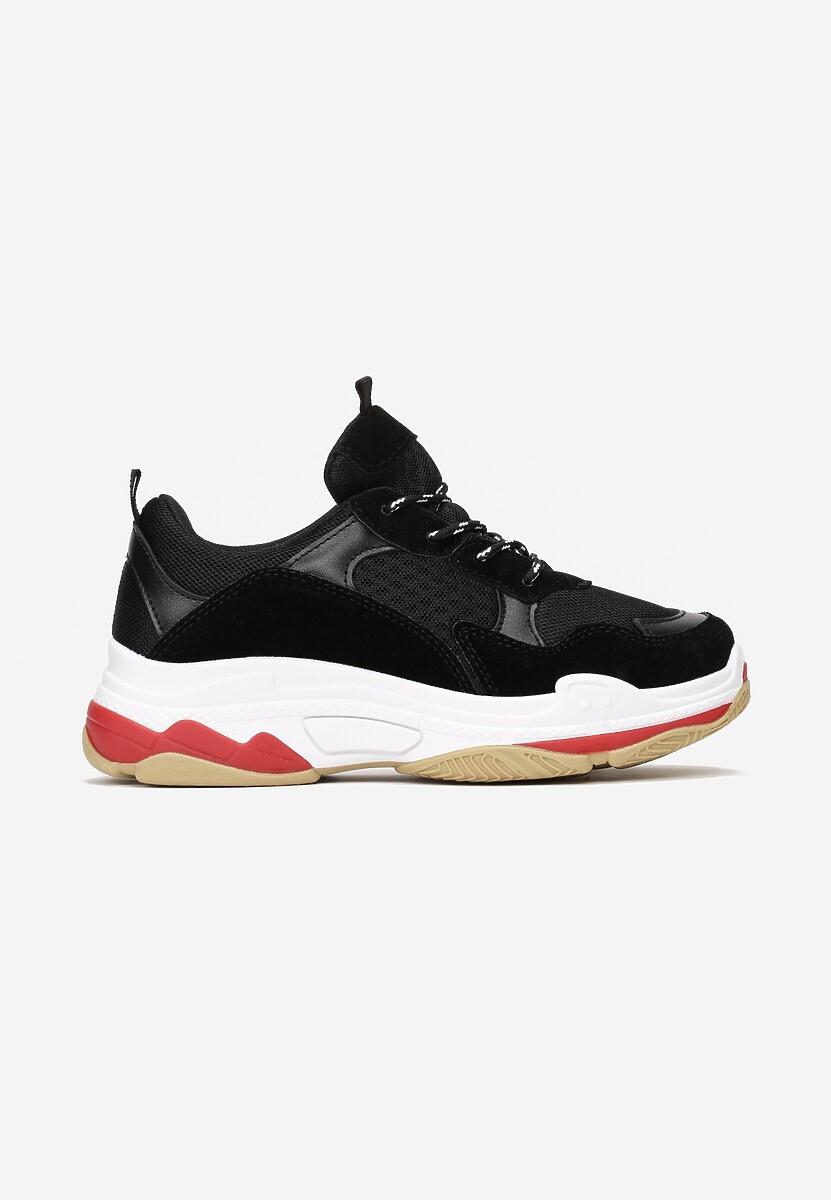 Czarne Sneakersy Neririal