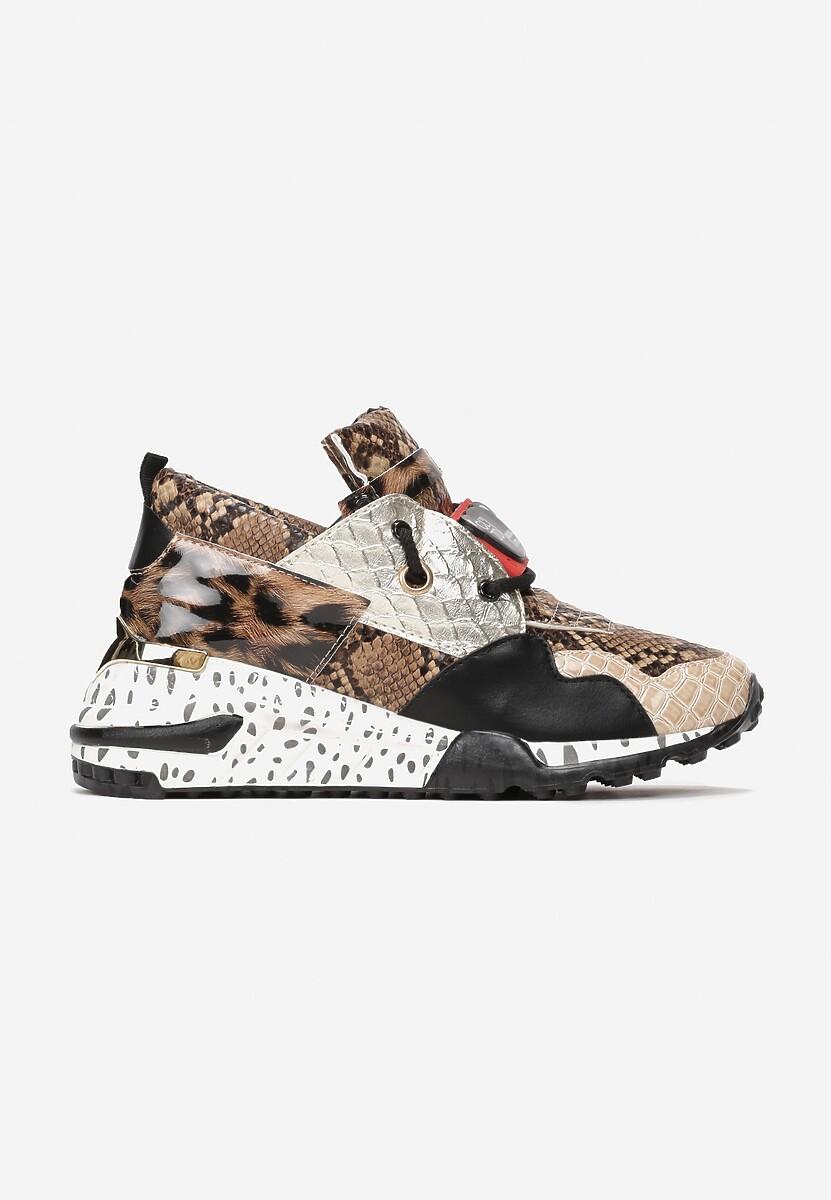 Brązowe Sneakersy Coniferous
