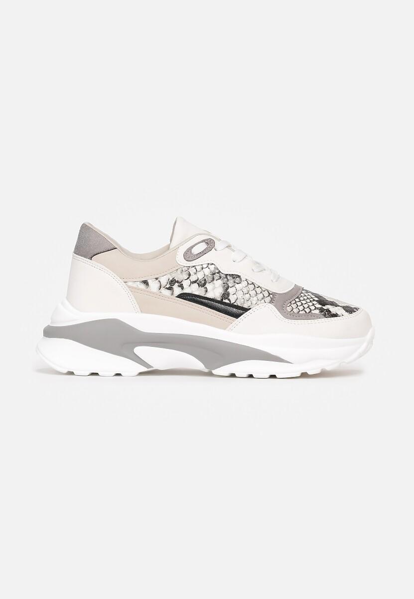Białe Sneakersy Thenos