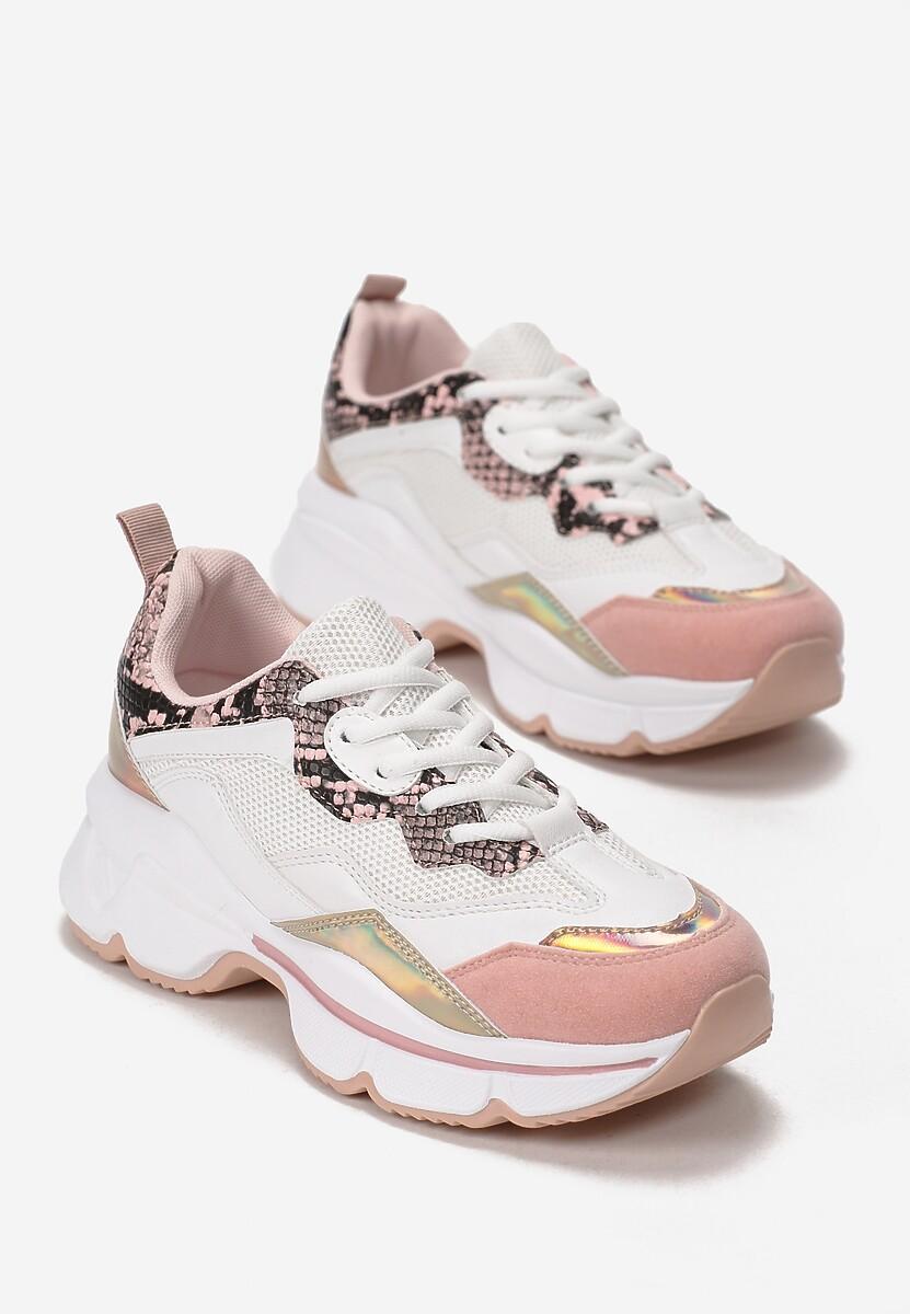 Różowe Sneakersy Wherever I Go