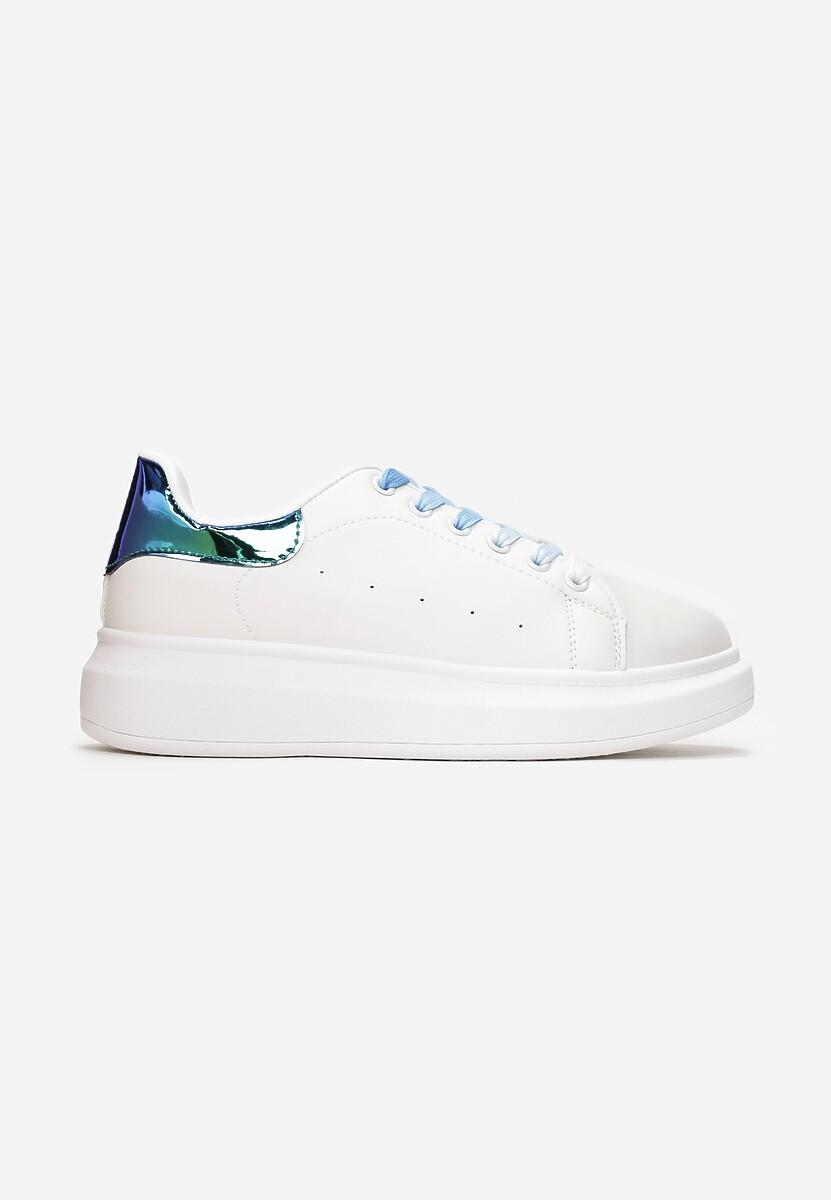 Biało-Niebieske Sneakersy Soft Gradient