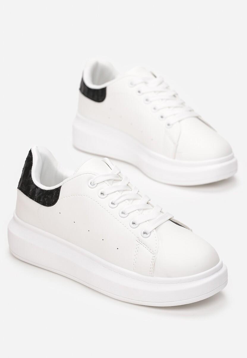 Biało-Czarne Sneakersy Lucid Dream