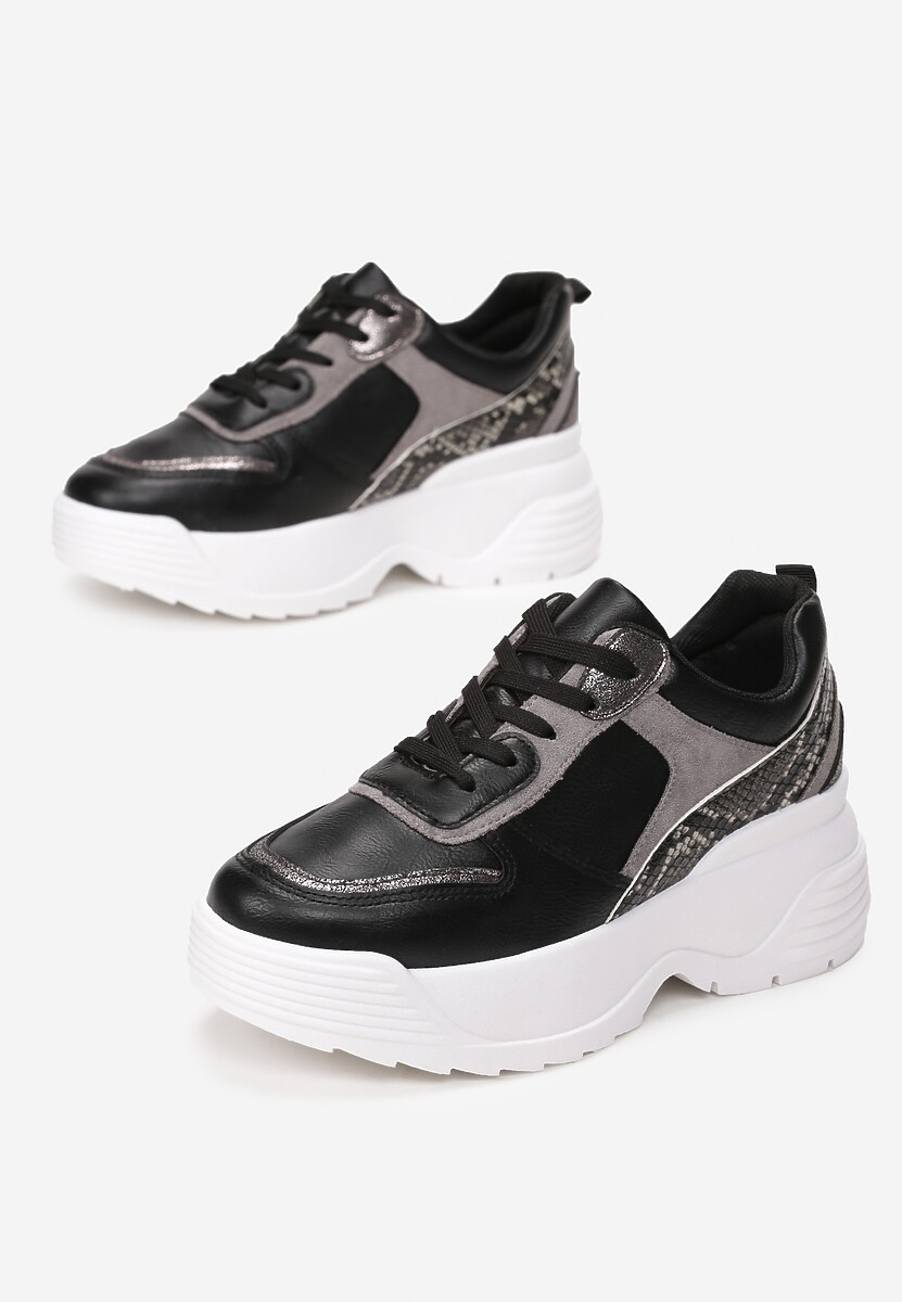 Czarne Sneakersy Cricketflight