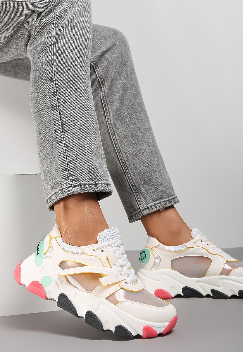 Białe Sneakersy Lagurien