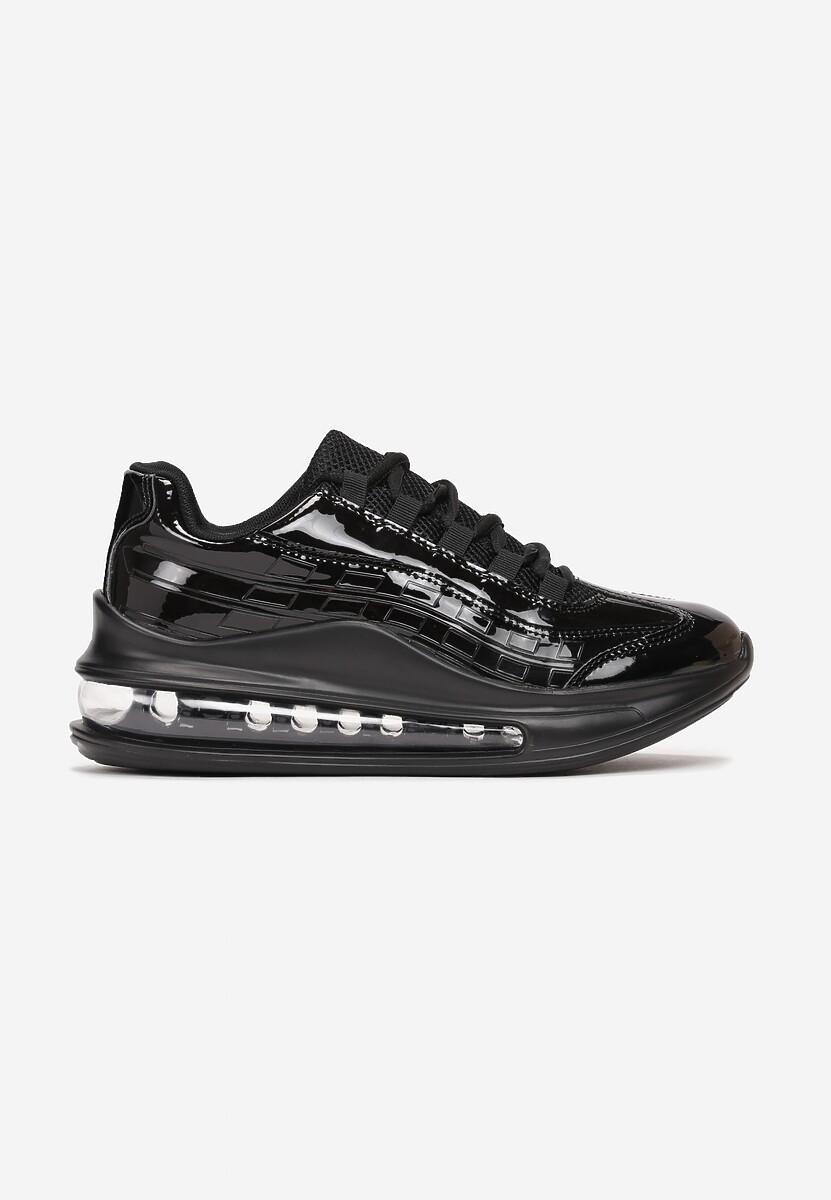 Czarne Sneakersy Gineros