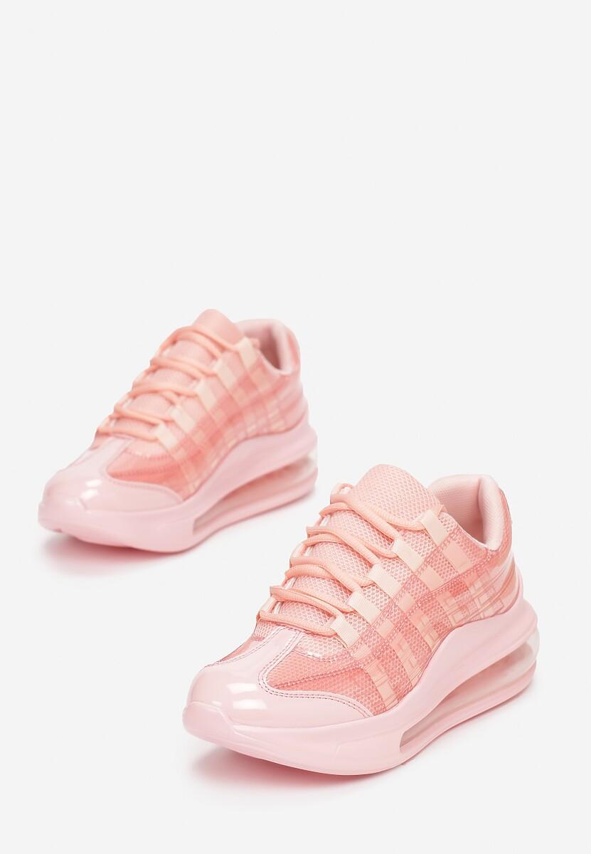 Różowe Sneakersy Gineros