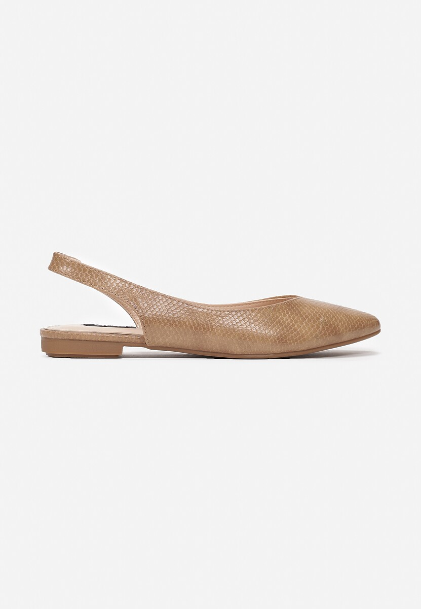 Beżowe Sandały Coralis