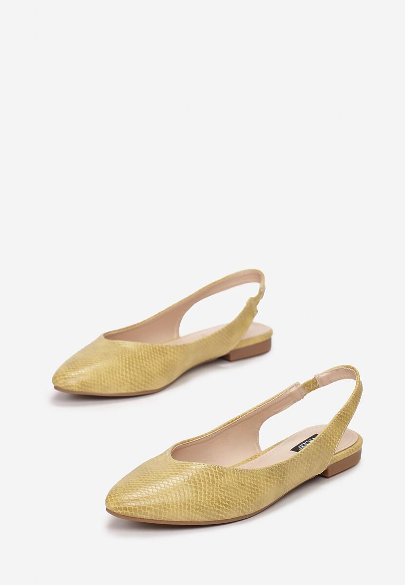 Żółte Sandały Coralis