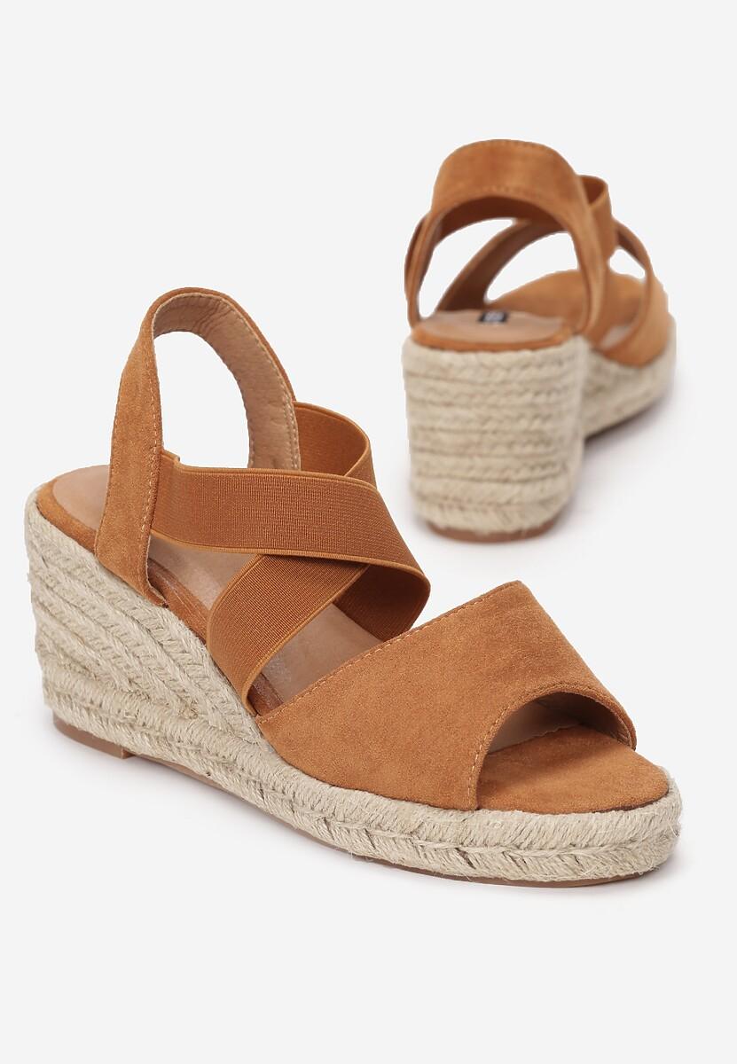 Brązowe Sandały Mesesis