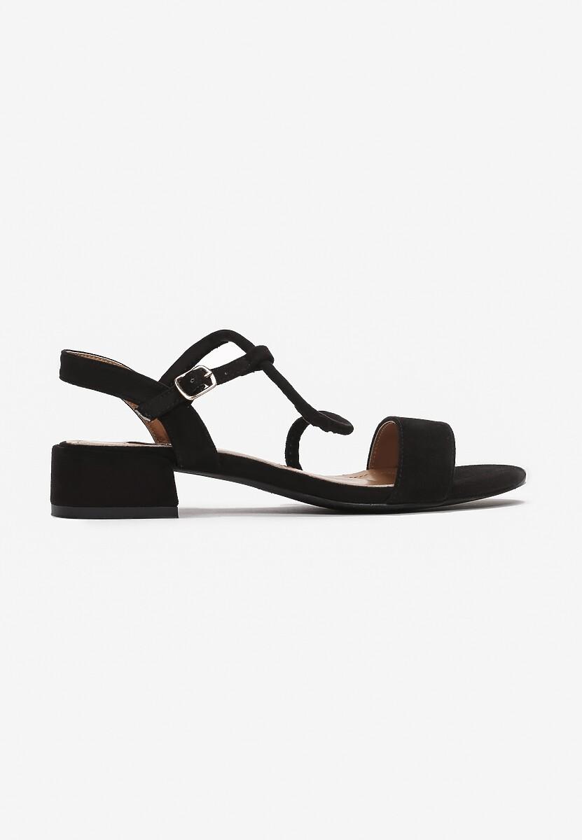 Czarne Sandały Boliniassi