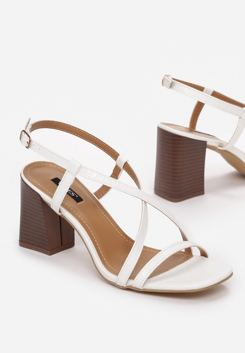 Białe Sandały Dorysea