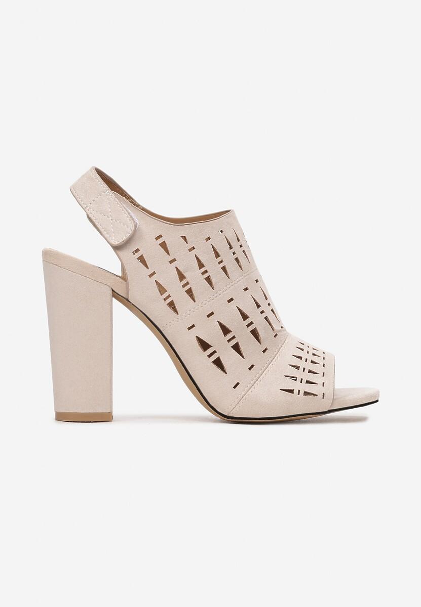 Beżowe Sandały Nedarila