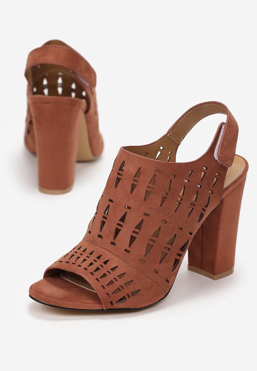 Brązowe Sandały Nedarila