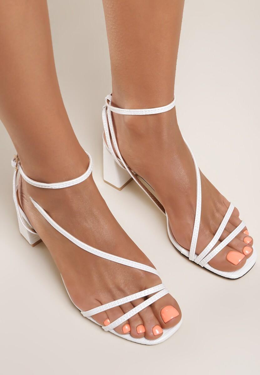 Białe Sandały Klethelia