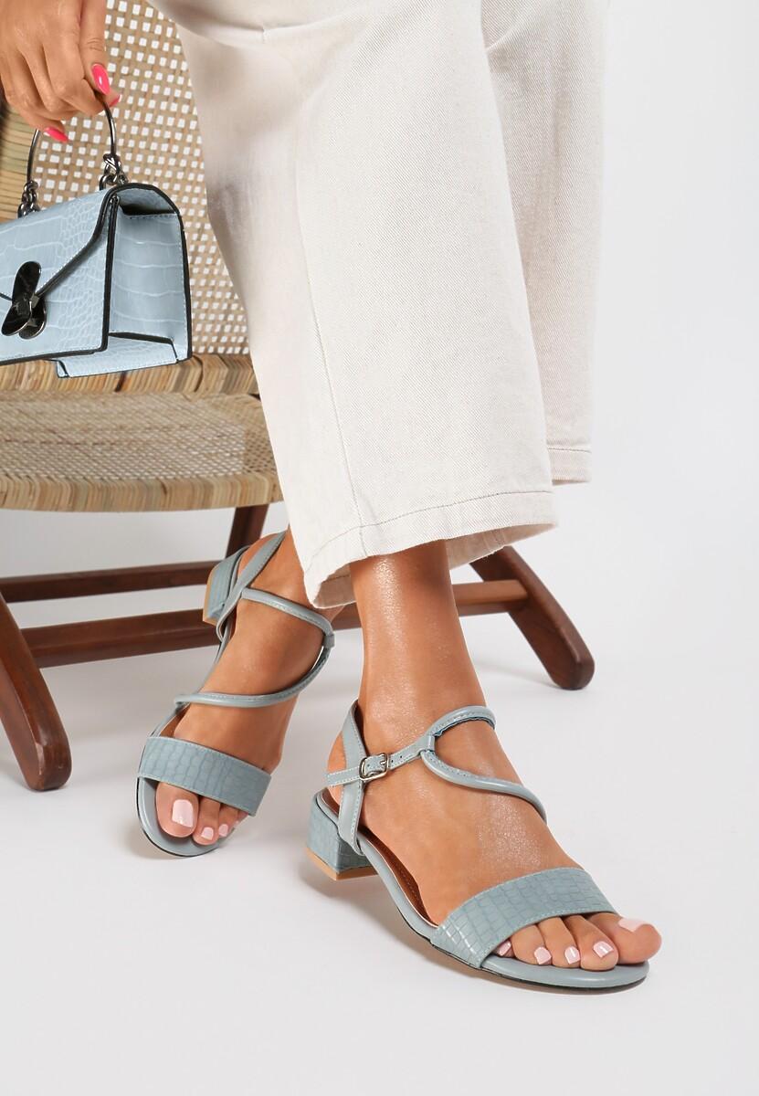 Niebieskie Sandały Coradeia