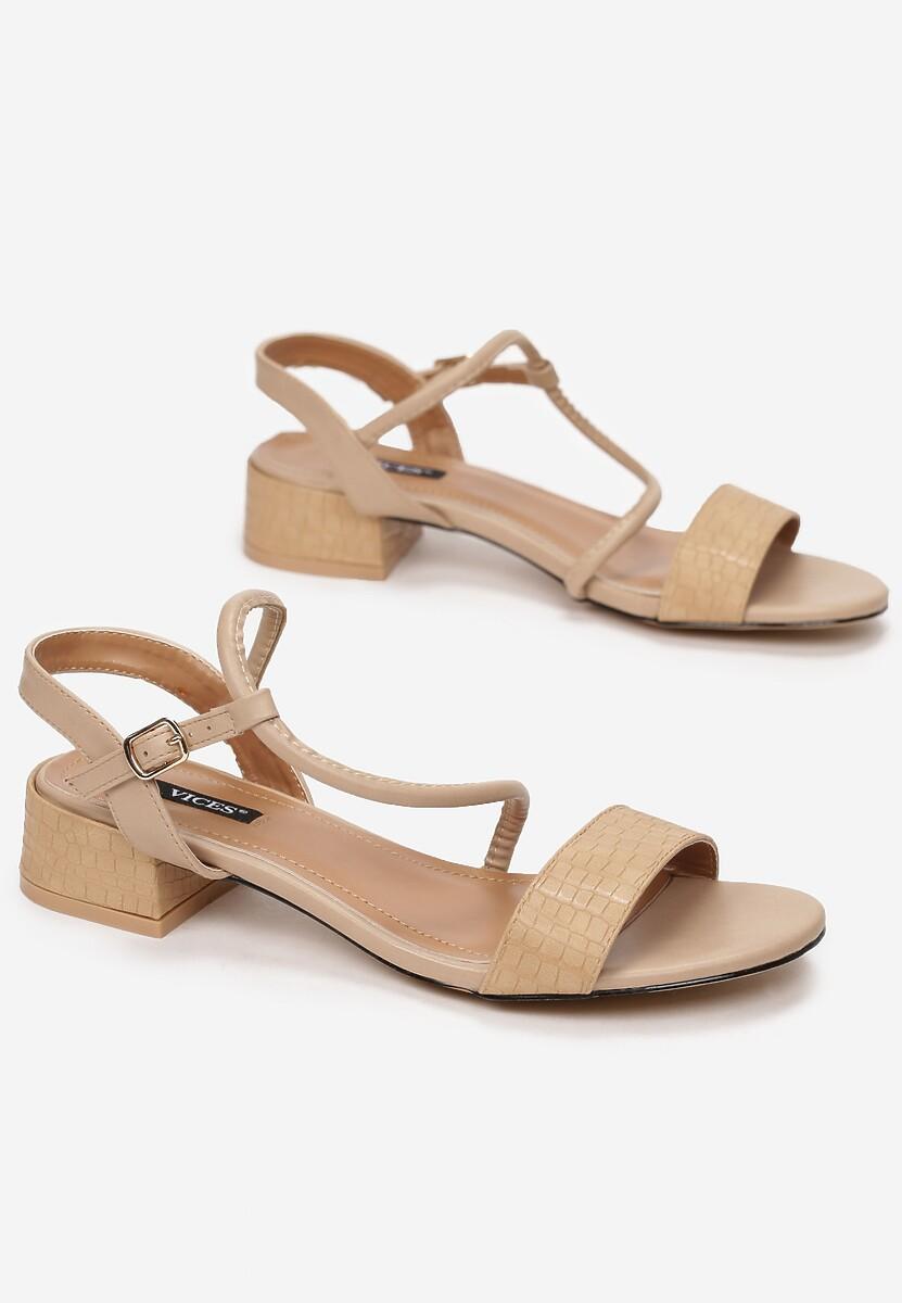 Beżowe Sandały Coradeia