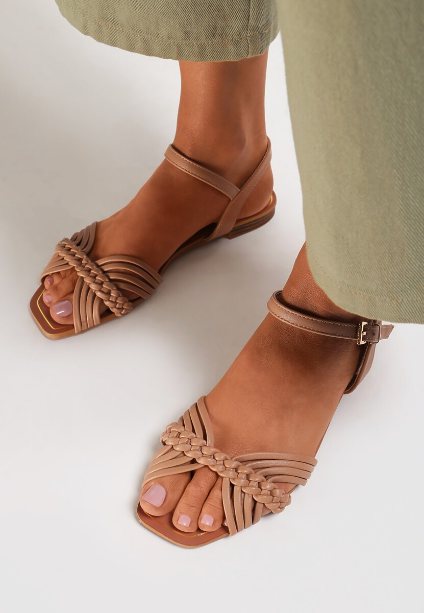 Beżowe Sandały Muriros