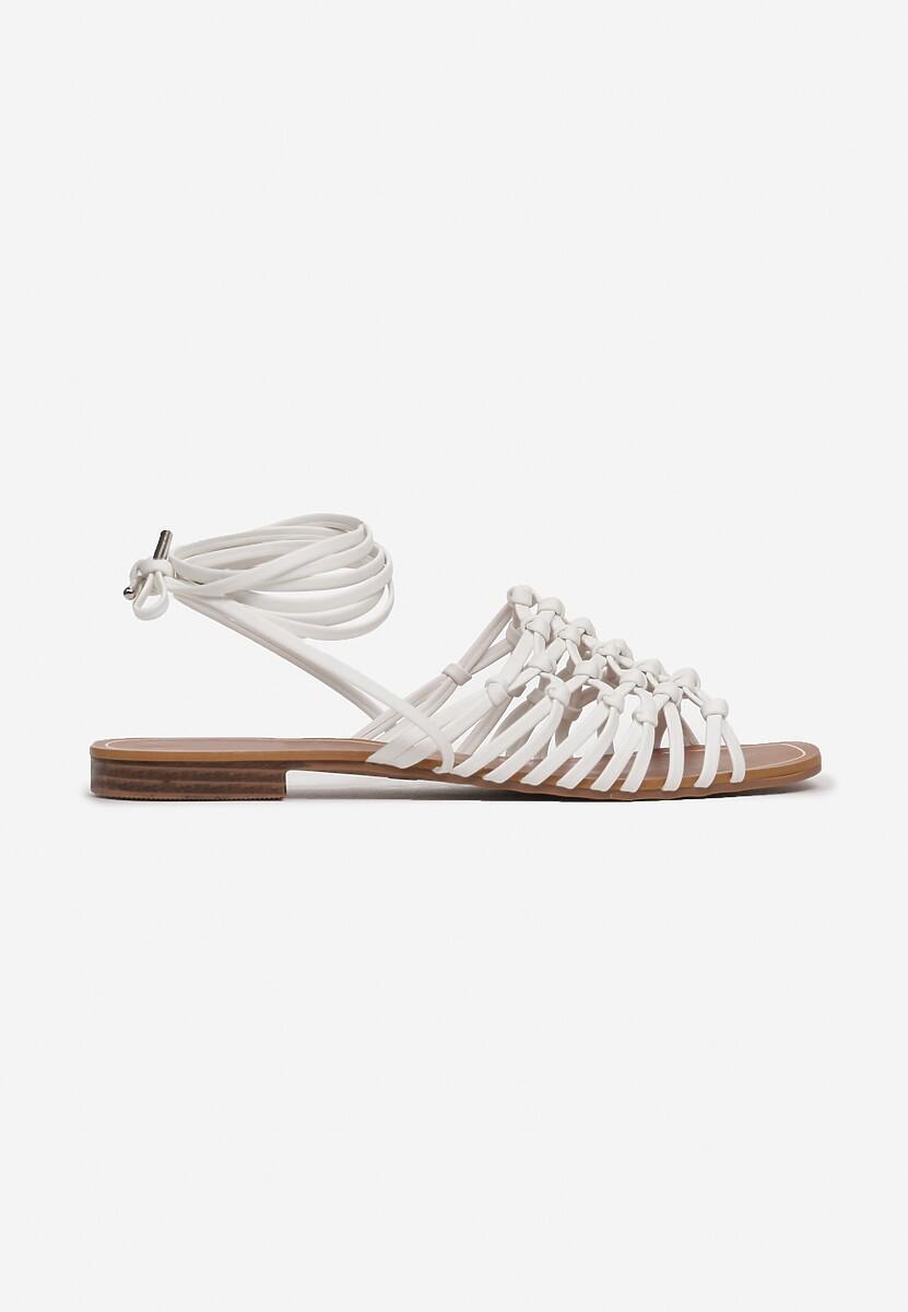Białe Sandały Sylidorise
