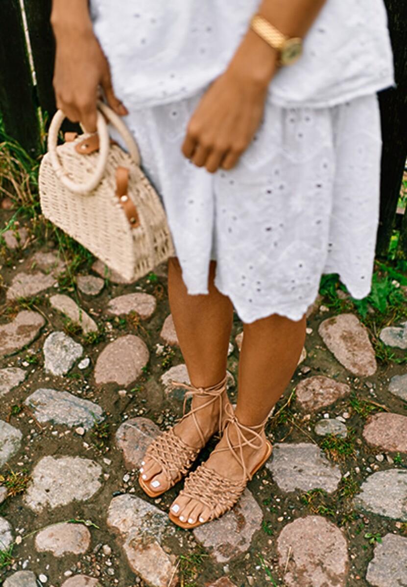 Beżowe Sandały Sylidorise
