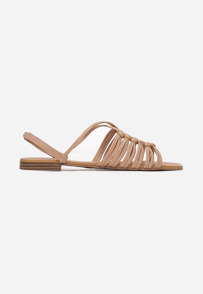 Beżowe Sandały Euphenele