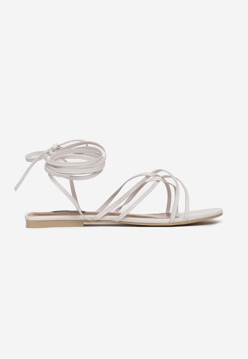 Białe Sandały Aetheda