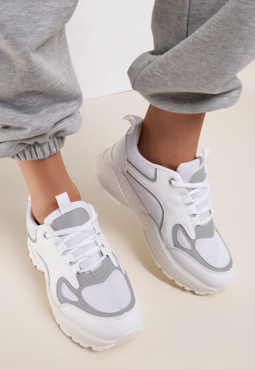 Białe Sneakersy Rockmere
