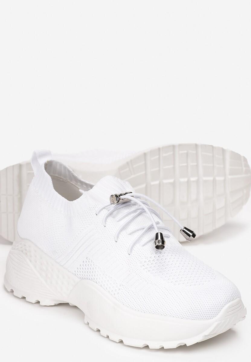 Białe Sneakersy Aglaolinai