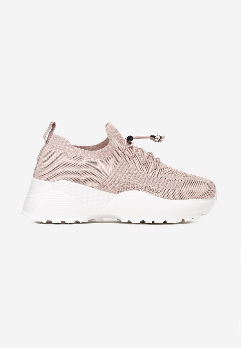 Różowe Sneakersy Aglaolinai