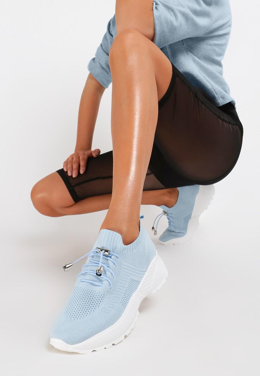 Niebieskie Sneakersy Aglaolinai