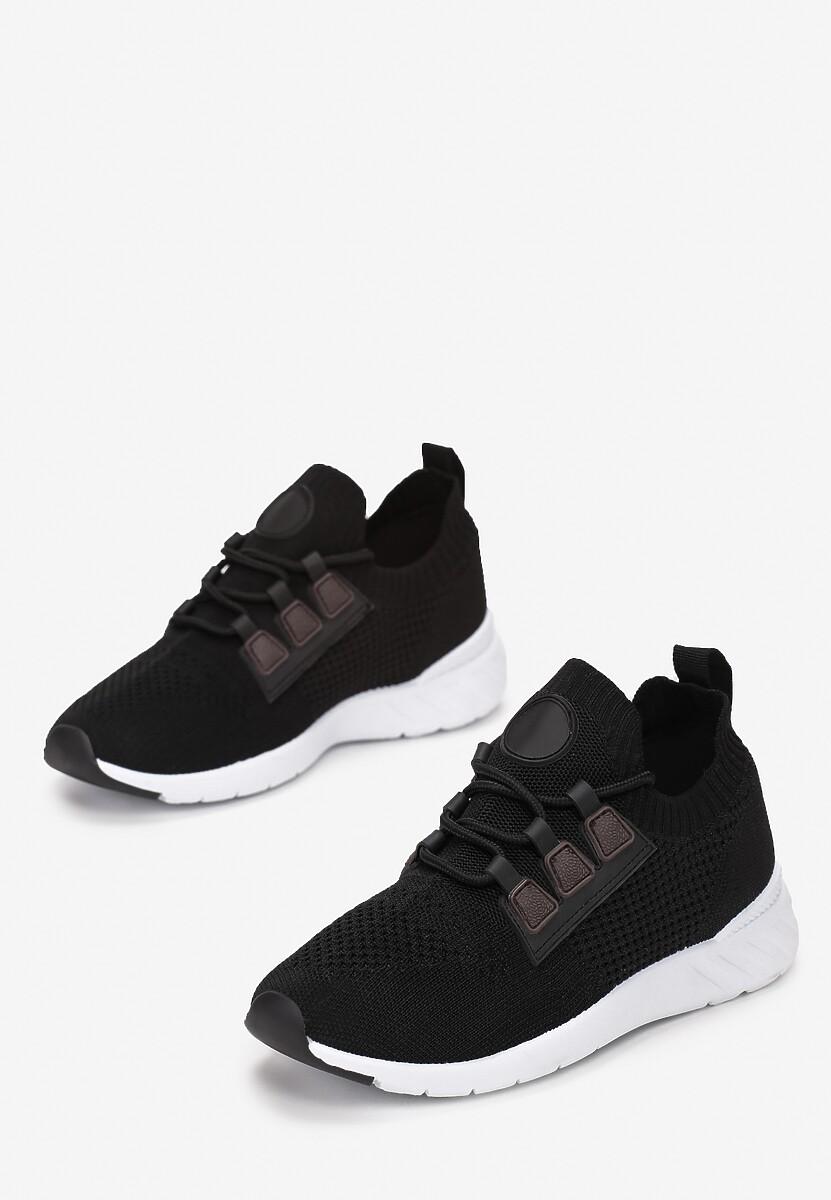 Czarne Buty Sportowe Kimodise