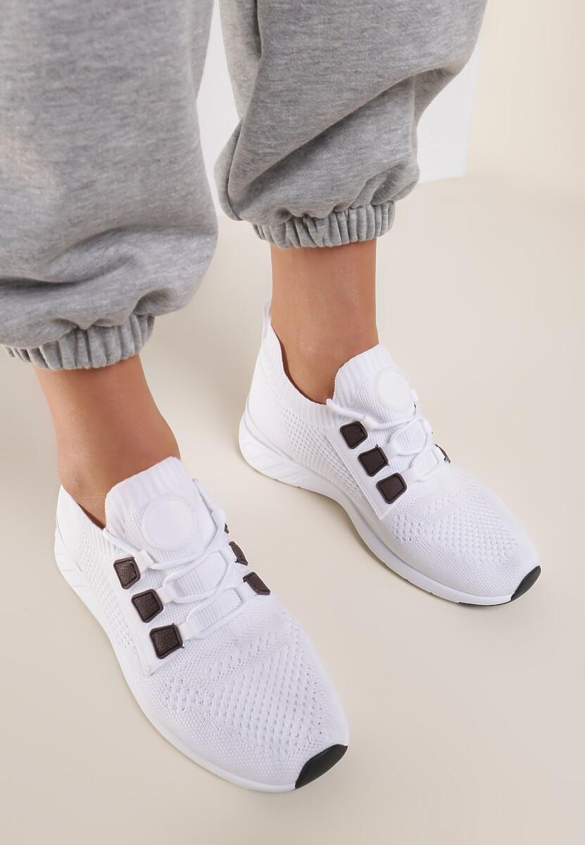 Białe Buty Sportowe Kimodise