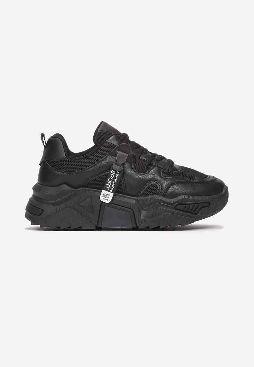 Czarne Sneakersy Touch Of Light