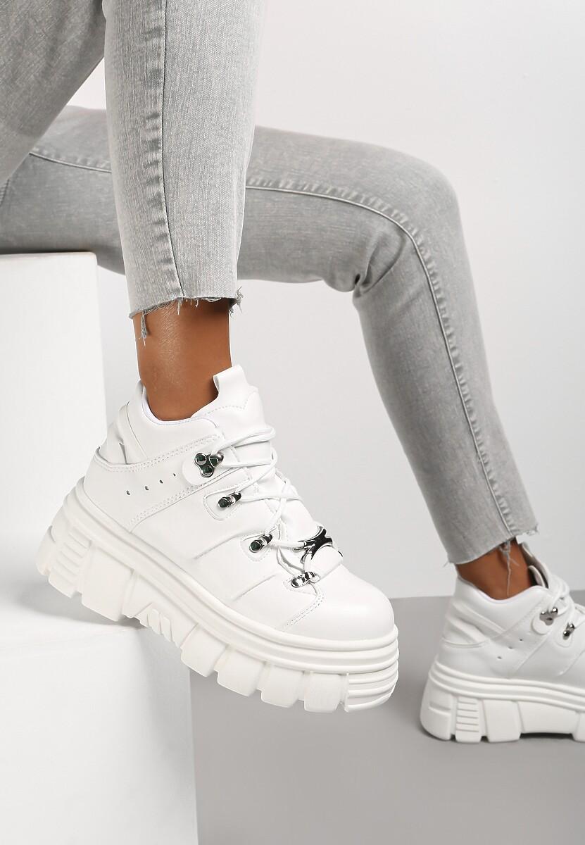 Białe Sneakersy Nalora