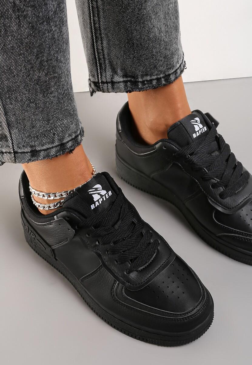 Czarne Sneakersy Sherith