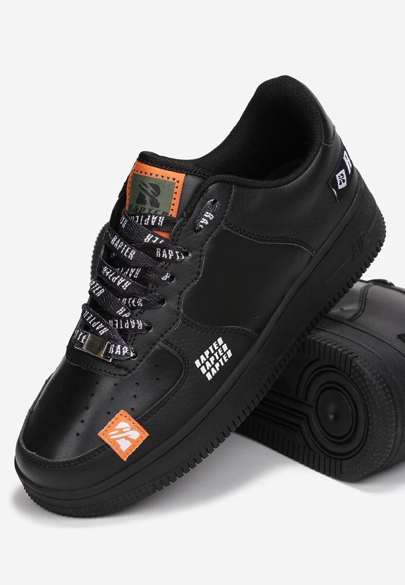 Czarne Sneakersy Jenniny
