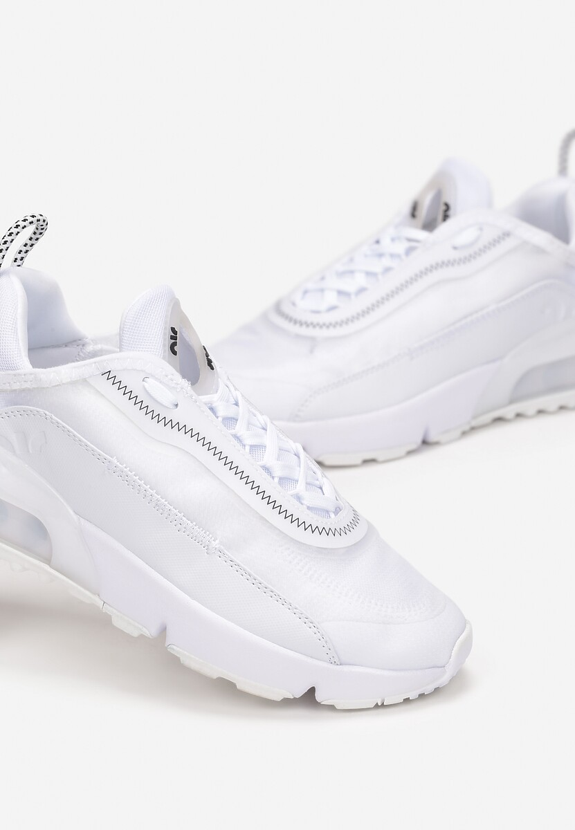 Białe Buty Sportowe Azama