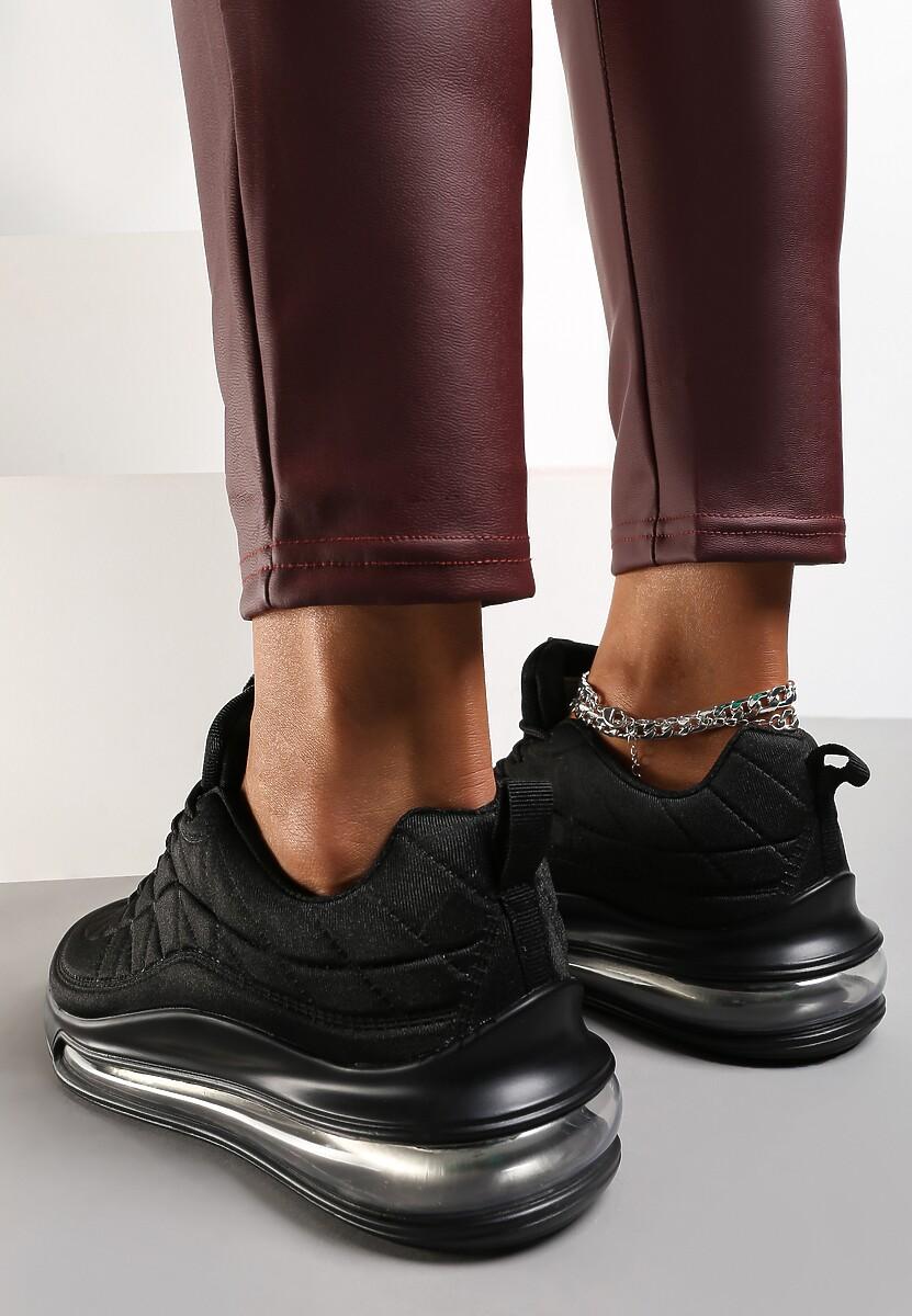 Czarne Sneakersy Yrelera