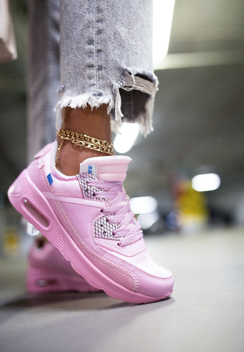 Różowe Buty Sportowe Irinyxih