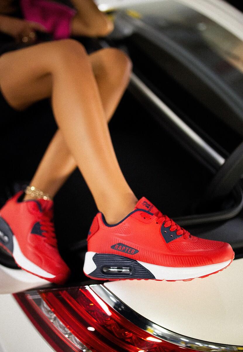 Czerwone Buty Sportowe Praxanthe