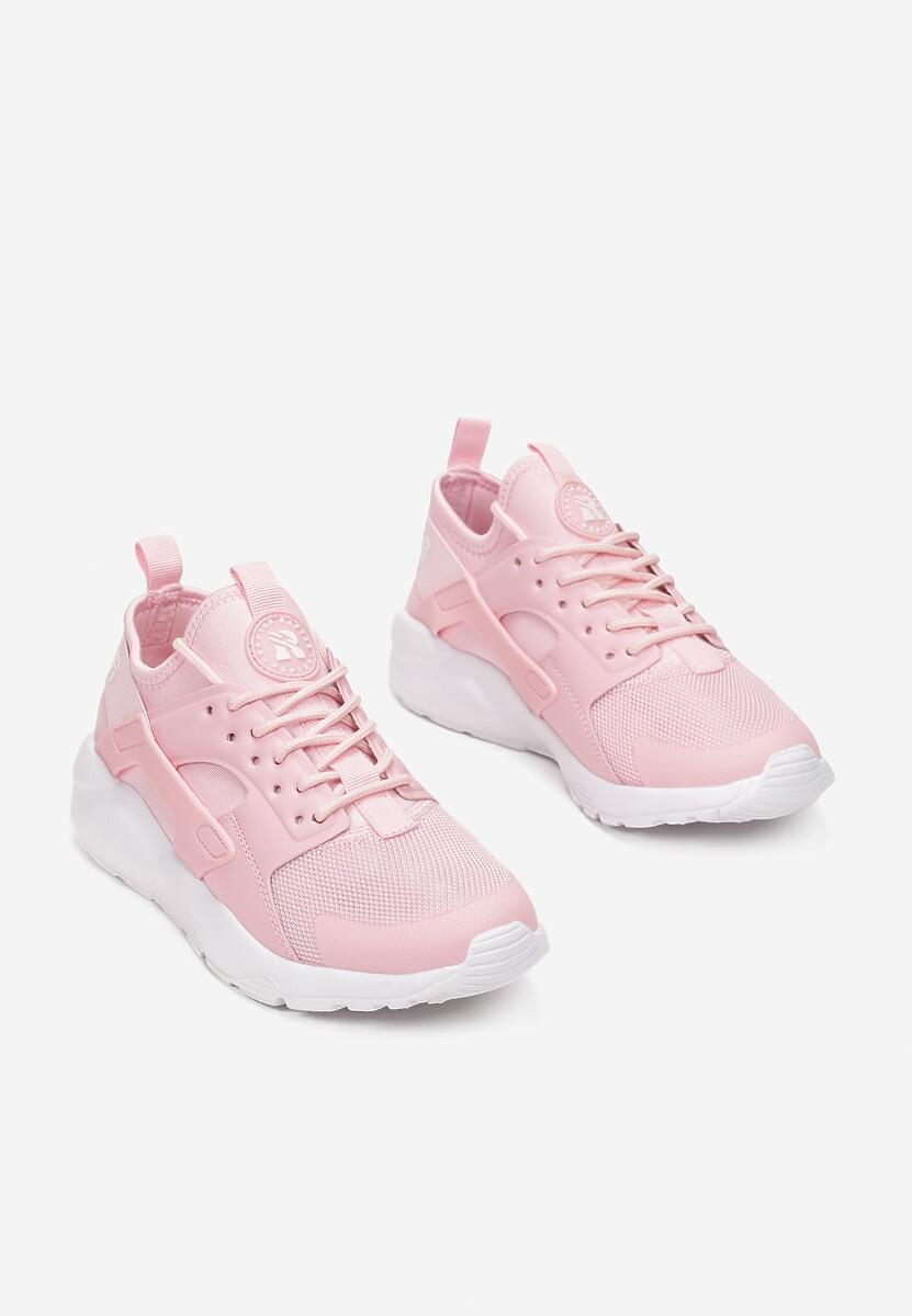 Różowe Buty Sportowe Rhelvynia